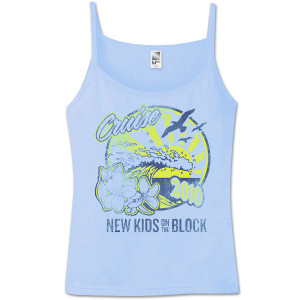 New Kids On The Block 2010 Summer Jam Spaghetti Strap Tank