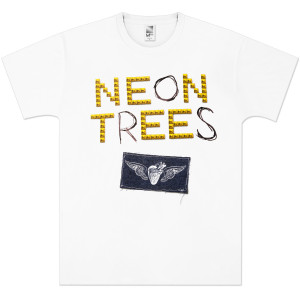 Neon Trees Pyramid Stud T-Shirt