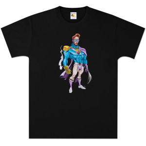 Conan O'Brien Flaming C T-Shirt