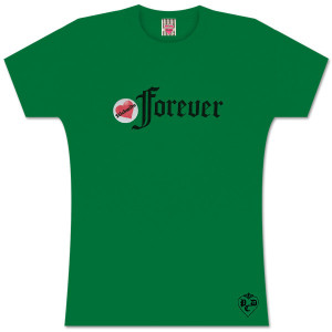 Stickwito Forever Black Logo Womens Tee