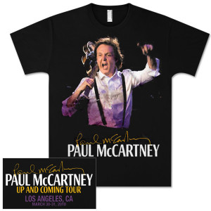 Paul McCartney Up and Coming Event T-Shirt - Los Angeles