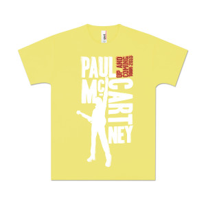 Paul McCartney Youth Type Blocks T-Shirt