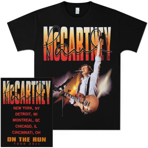 Paul McCartney Big Time 2011 Tour T-Shirt