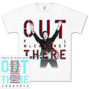 Paul McCartney Out There 3D T-Shirt