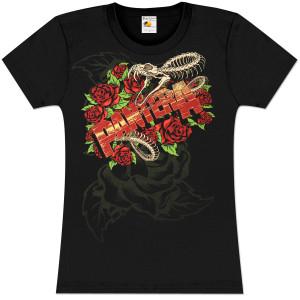 Pantera Women's Cemetery Gates Crew Neck T-Shirt