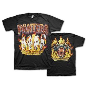 Pantera Vintage Flames T-Shirt