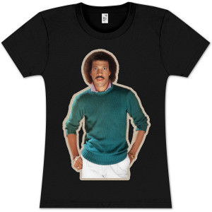 Lionel Richie Heat Transfer Babydoll T-Shirt