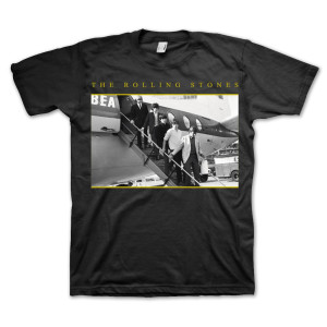 Rolling Stones 50th Anniversary Airplane T-Shirt