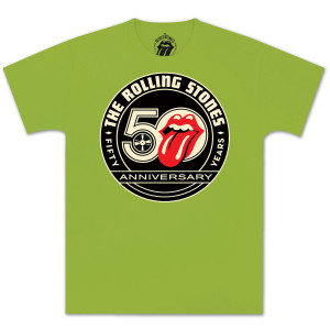 Rolling Stones 50th Seal T-Shirt