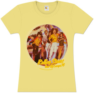Rolling Stones Europe '76 Women's T-Shirt