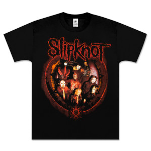 Slipknot Circle Framed Band T-Shirt