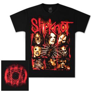 Slipknot Dirty Frame T-Shirt - Black