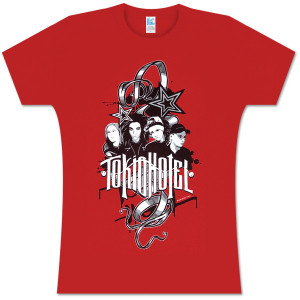 Tokio Hotel Rock Art Women's T-Shirt