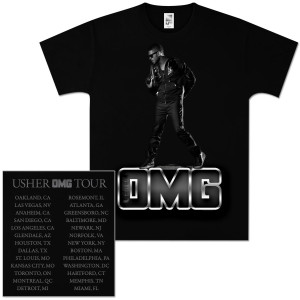 Usher Standing Slim Fit T-Shirt