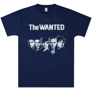 The Wanted Album T-Shirt