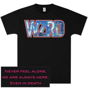 WZRD Black Logo T-Shirt