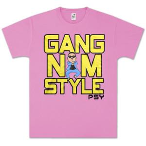 PSY Gangnam Style Box Text T-Shirt