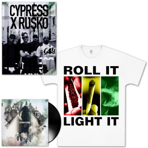 Cypress Hill X Rusko Vinyl EP Bundle