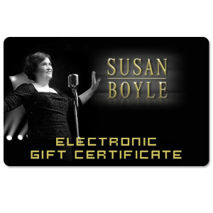 Susan Boyle Electronic Gift Card