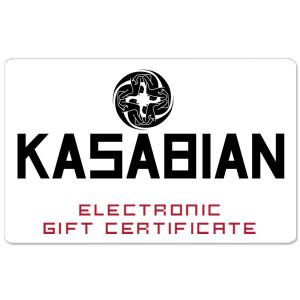 Kasabian Electronic Gift Certificate
