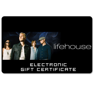 Lifehouse Electronic Gift Certificate