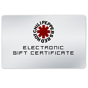 Red Hot Chili Peppers - Electronic Gift Certificate