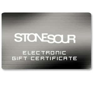 Stone Sour Electronic Gift Certificate
