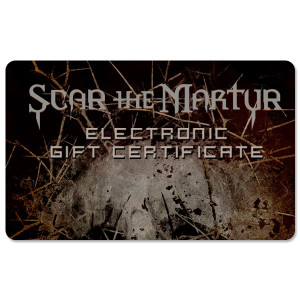 Scar The Martyr Electronic Gift Certificate