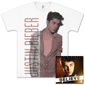 Justin Bieber Believe Silver Bundle