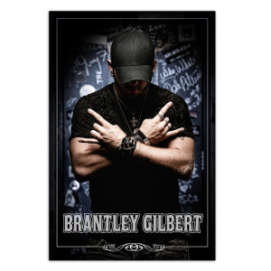 Brantley Gilbert Stone Cold Country Poster