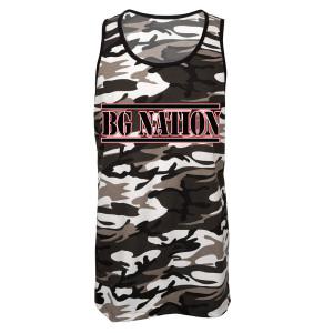BG Nation Men's Camo Tank