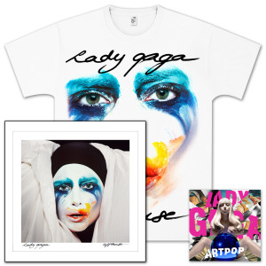 ARTPOP - Deluxe Explicit Version CD Bundle