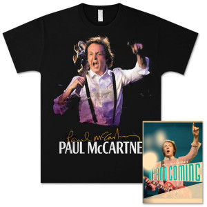 Paul McCartney Up and Coming Miami Event T-Shirt and Tour Programme Bundle