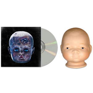 Black Dots of Death Lower Than Dirt Series Baby Doll Head and CD