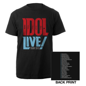 Billy Idol Live! Tour Tee