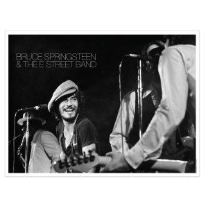 Exclusive Lithographic Print - Bruce Springsteen & The E Street Band Live At The Bottom Line In NYC, 1975 (1-500)