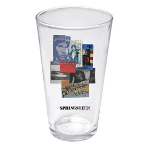 Bruce Live Passes Pint Glass