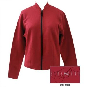 Barbra Streisand Full Zip Fleece Jacket