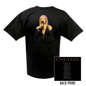 Barbra Streisand European 2007 Tour Tee
