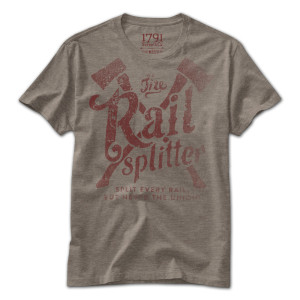 1791 The Rail Splitter T-Shirt
