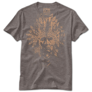 1791 Native American Head T-Shirt