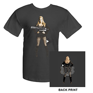 Carrie Underwood Official Play On Tour Photo T-Shirt
