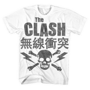 The Clash Vintage Skull T-shirt