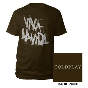 Coldplay Viva La Vida Logo Tee