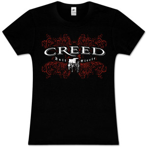 Creed Floral Girls Tee