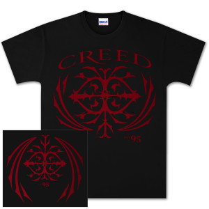 Creed Est. 95 Red Logo Tee