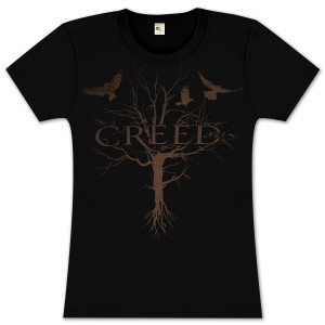 Creed Tree Logo Women's Tee