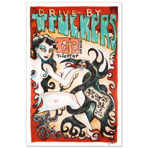 Drive-By Truckers 2012 Athens Poster