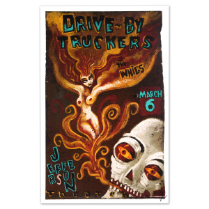 Drive-By Truckers - March 6, 2013 Jefferson Theater Poster