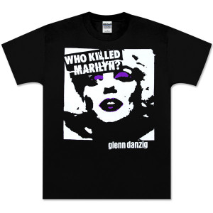 Danzig Who Killed Marilyn Black Tee
